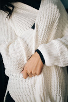 Time Will Tell Chenille Cardigan