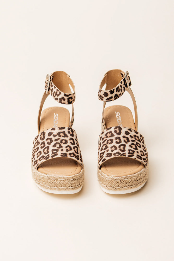 Savannah Espadrille in Cheetah