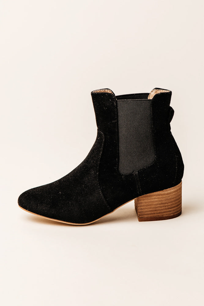 Holly Ankle Booties in Black