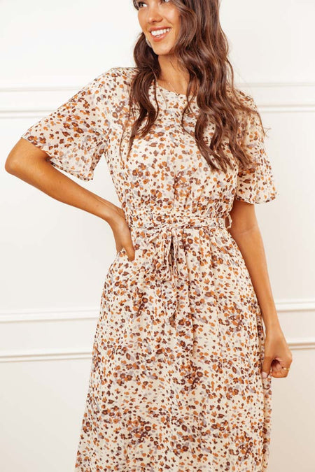 Mila Patterned Dress