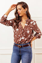 Serena Floral Button Down