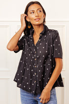 Macy Button Down Top