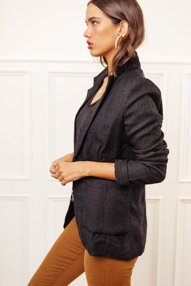 Aspyn Blazer in Tweed