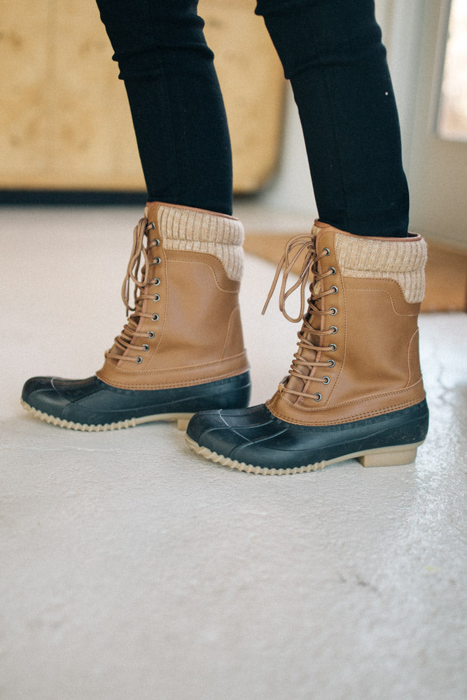 Hunter Duck Boots-FINAL SALE