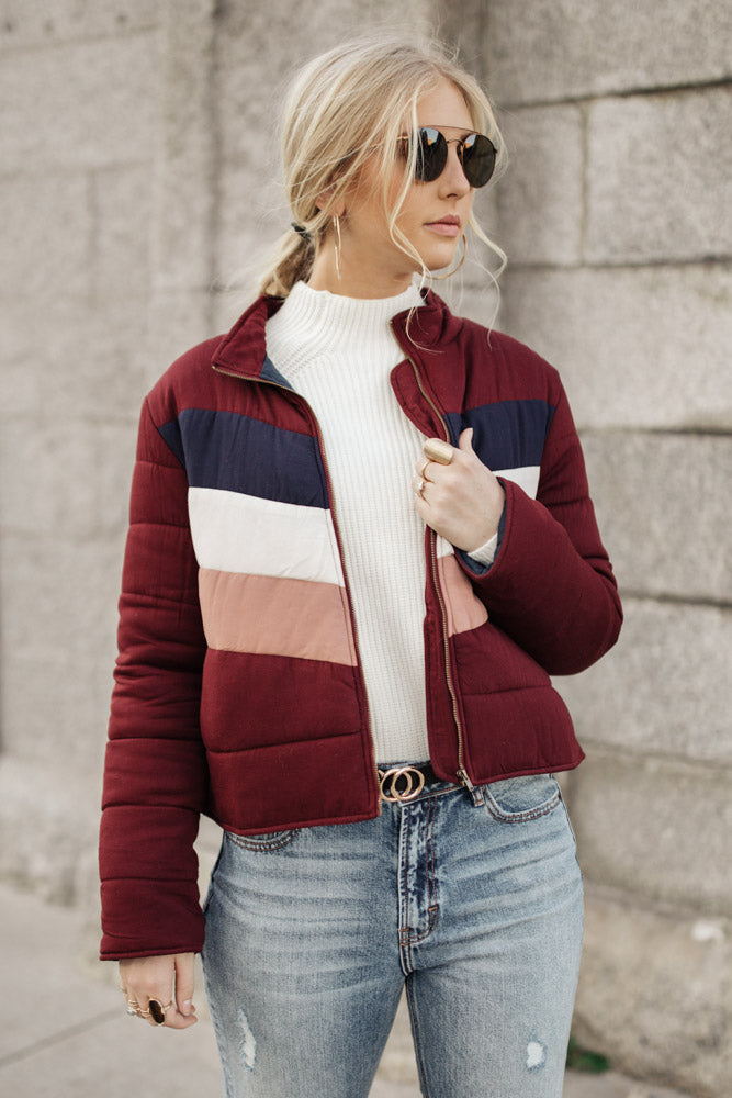 Evelyn Quilt Jacket - FINAL SALE