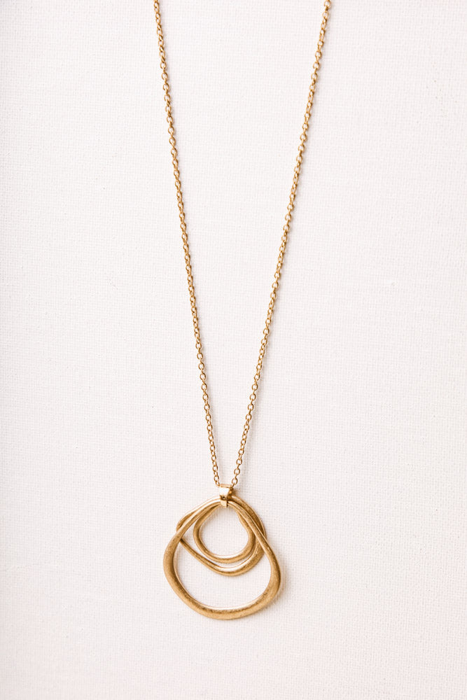 Analise Hoop Necklace
