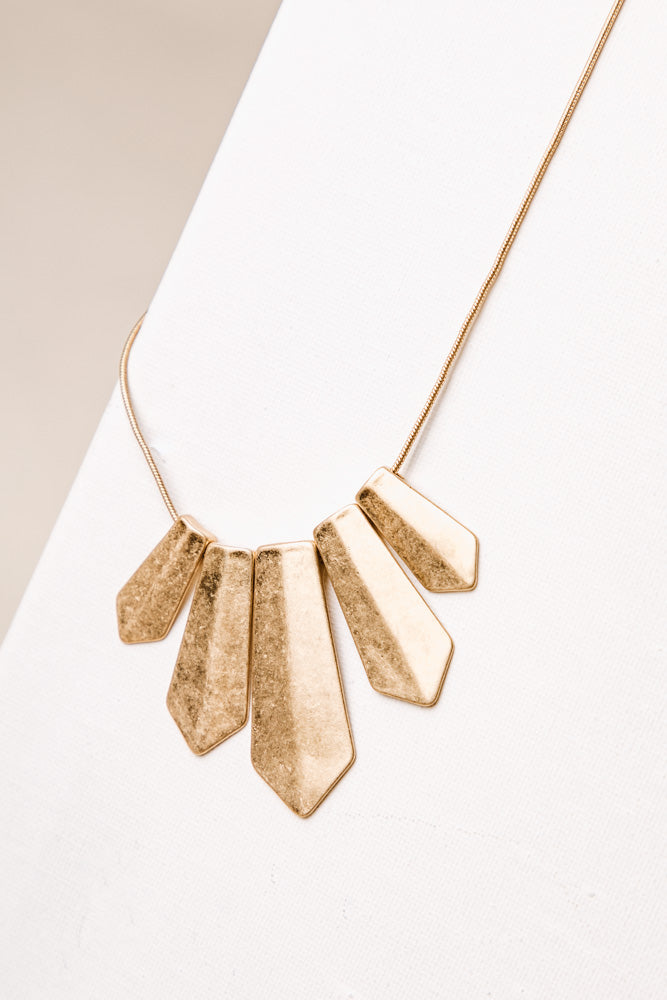 Palmer Gold Necklace