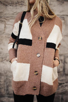Kaylee Color Block Cardigan