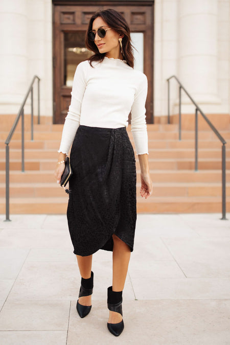 Kalina Leopard Print Skirt - FINAL SALE