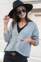 Carter Button Front Cardigan - FINAL SALE