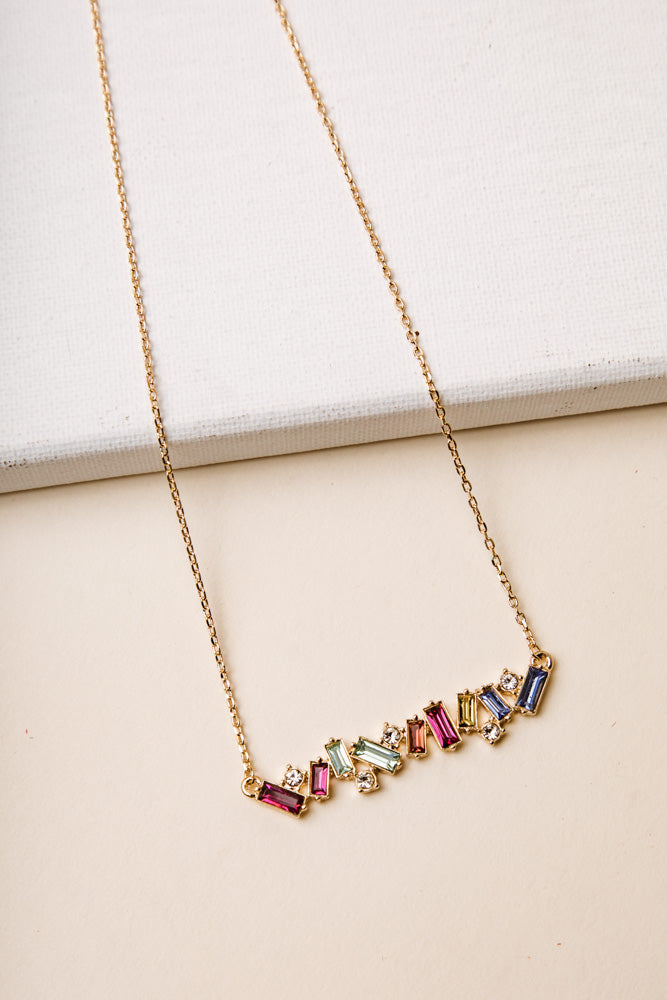 Ruhl Jewel Necklace in Multi