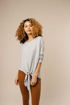 grey long sleeve bohme
