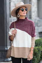 Bridget Mock Neck Sweater
