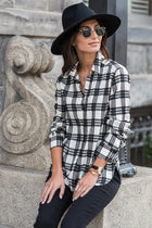 Calla Plaid Button Down