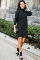 Kennedy Ruffle Neck Dress