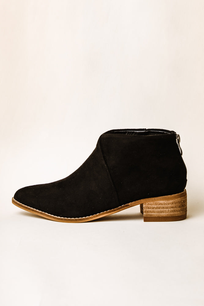 Nelly Ankle Booties in Black