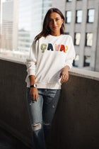 Ça va Graphic Sweatshirt