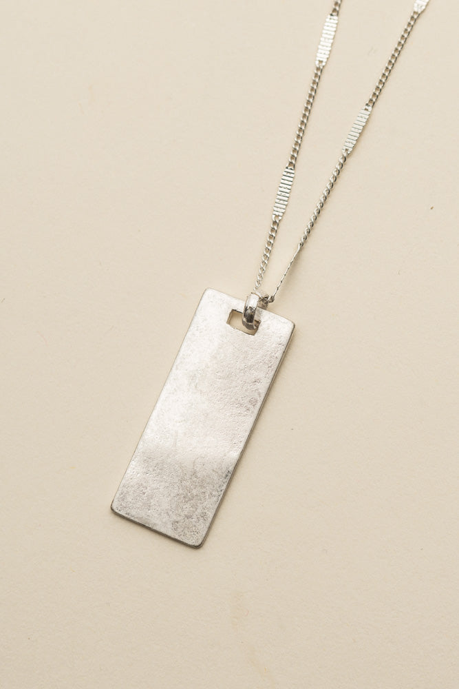 Silver Bar Necklace bohme