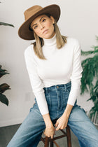 Rae Turtleneck in Cream-FINAL SALE