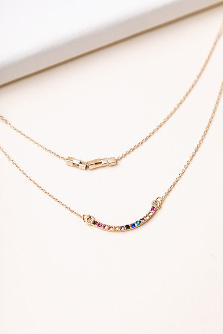Layered Bling Necklace