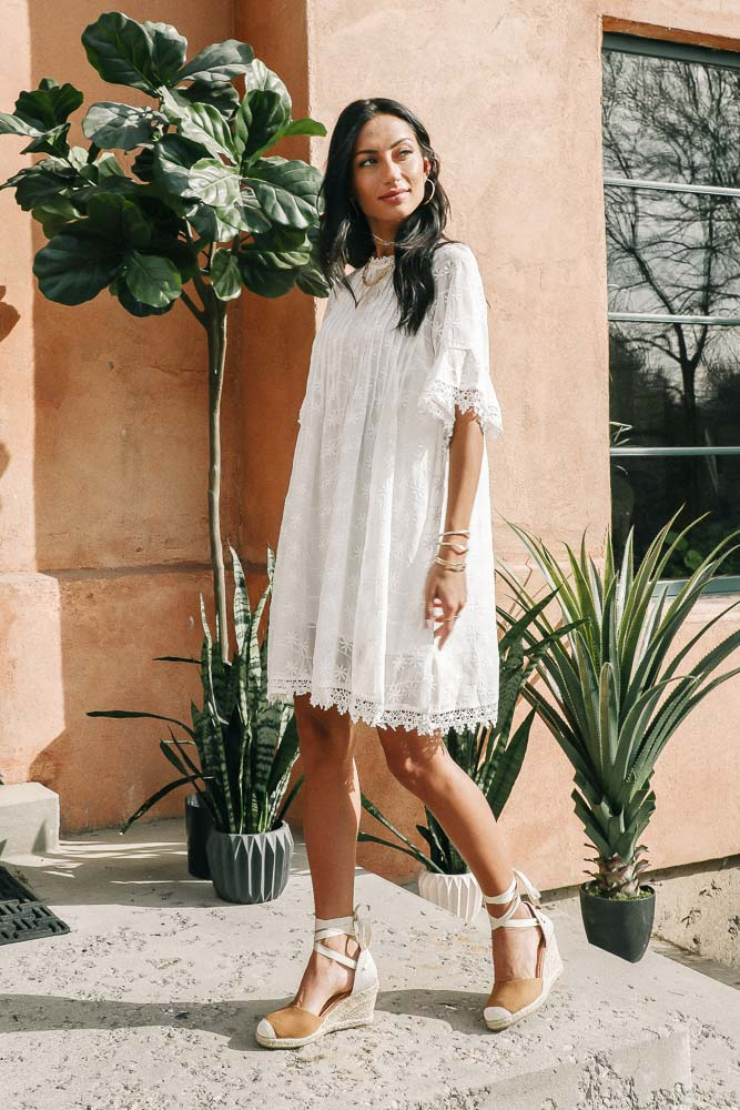 Betty Embroidered Dress