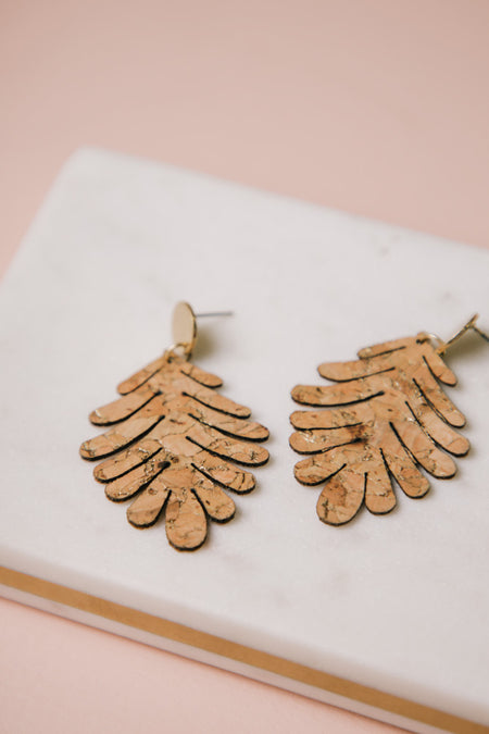 Cork Earrings Bohme