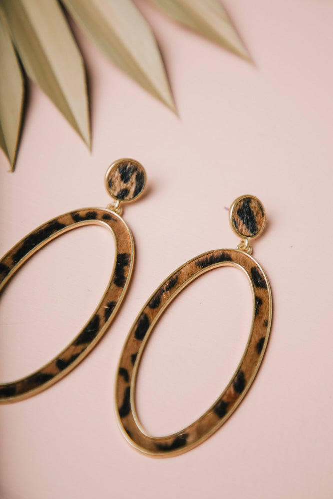 Leopard Earrings Bohme