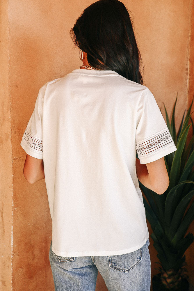 Lace Detail Tee