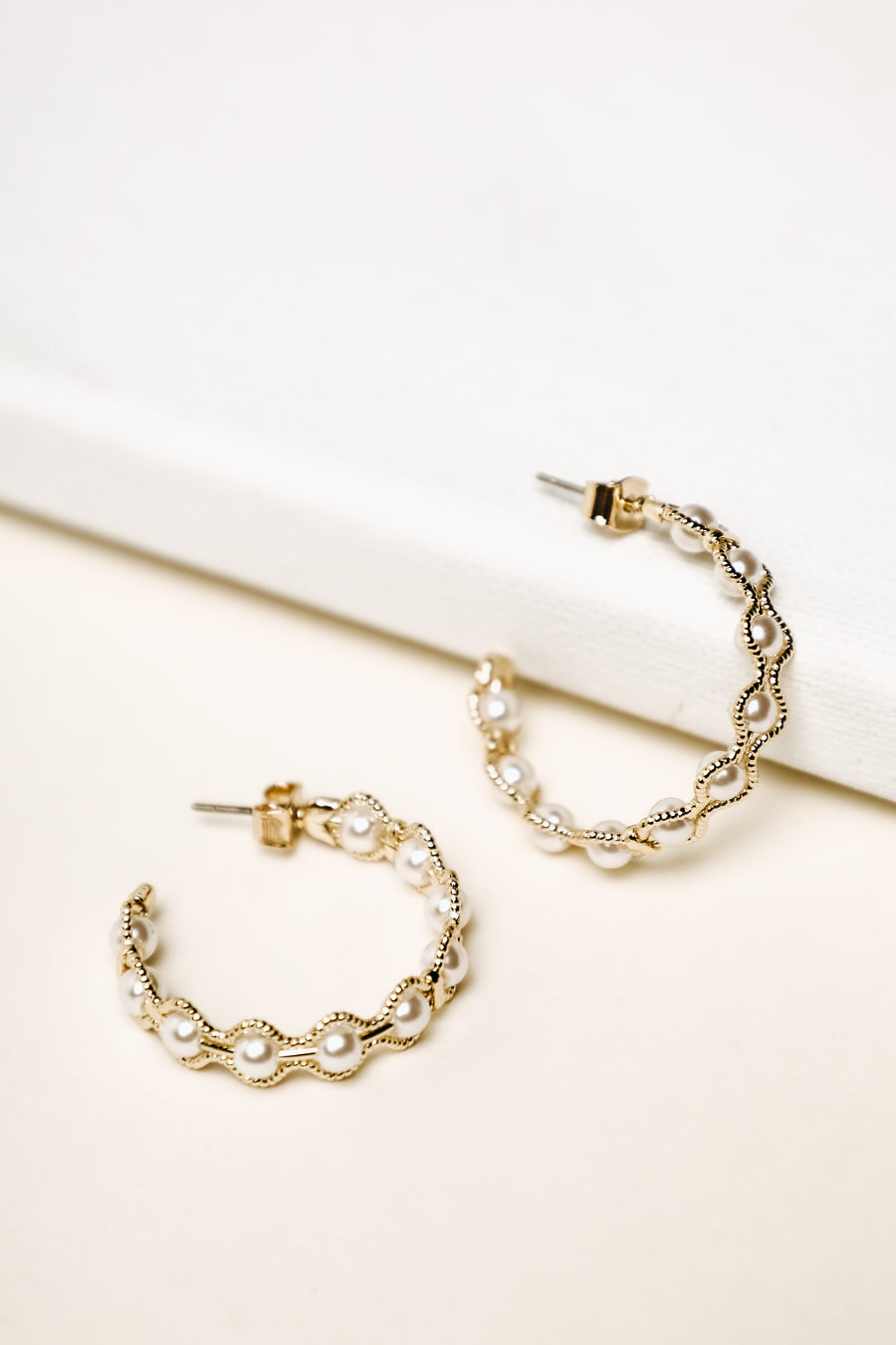 Cellini Pearl Earrings