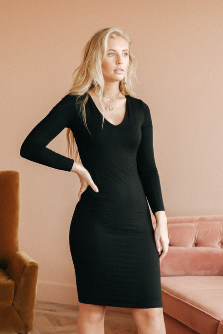 Lynne Black Dress-FINAL SALE