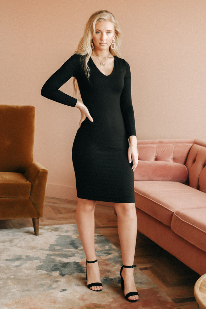 Lynne Black Dress