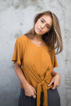Why Knot Top in Camel - Bohme