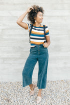 Stripes on Stripes Tee - Bohme
