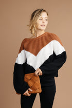 Bastien Chevron Sweater
