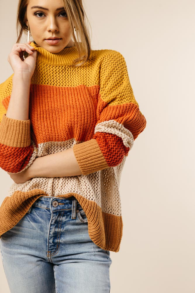 Candy Corn Sweater - Bohme