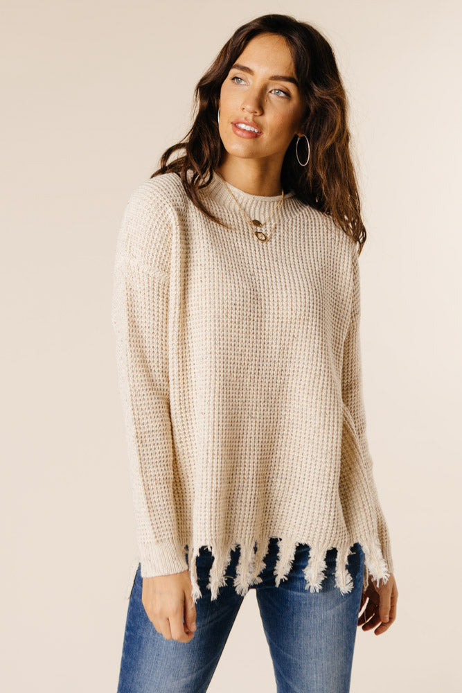Distressed Out Sweater Bohme