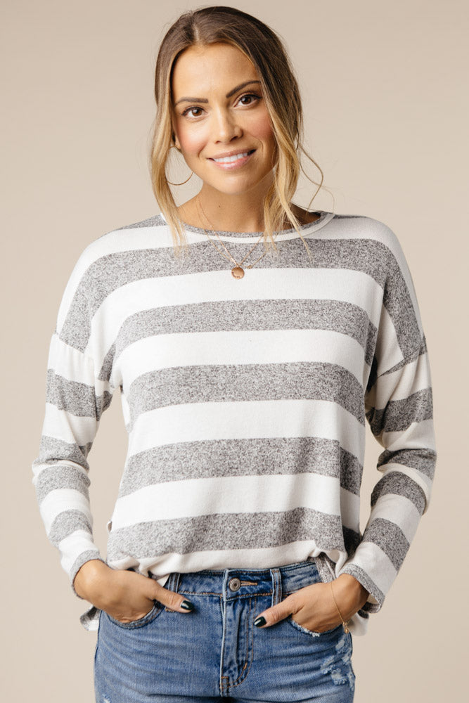 Penelope Striped Long Sleeve Bohme