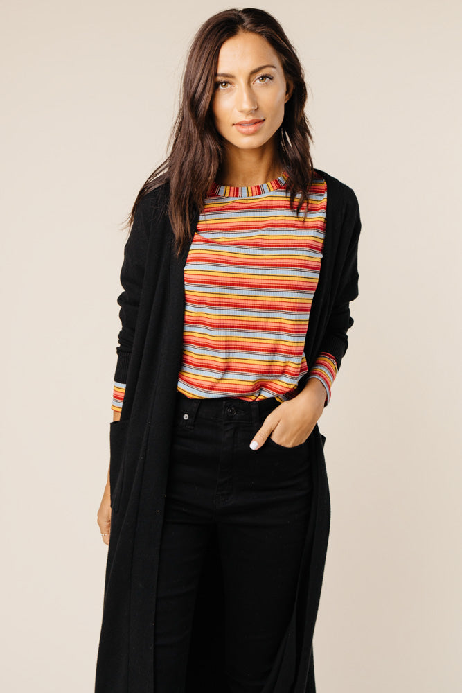 long sleeve top bohme