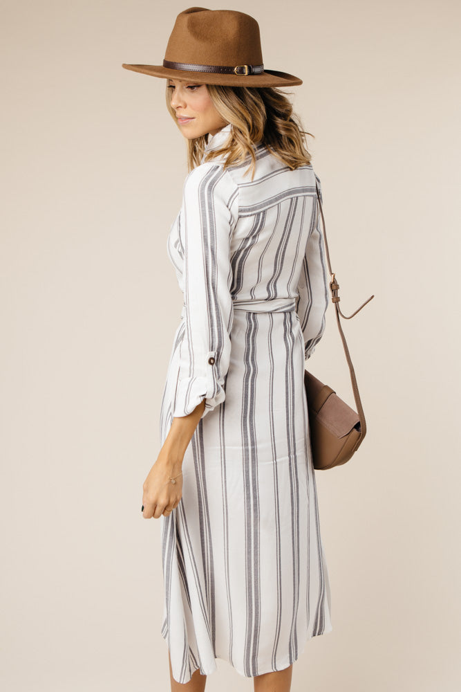 Finish Line Striped Dress