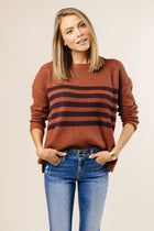 rust sweater bohme