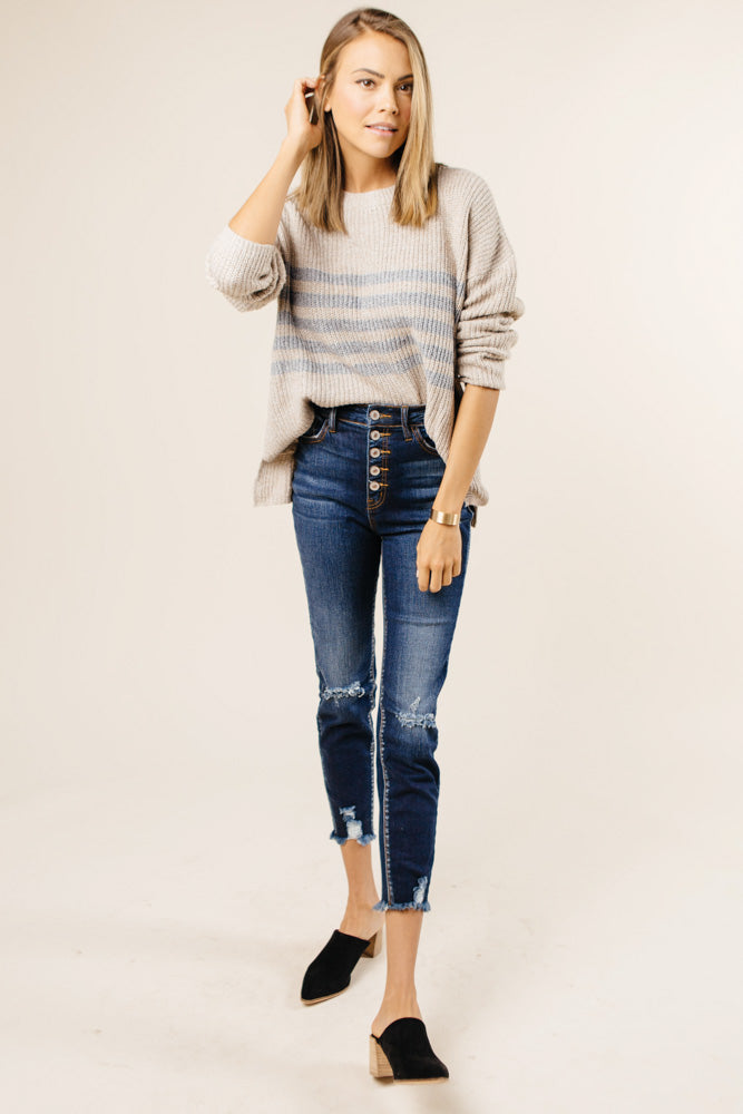 long sleeve sweater bohme