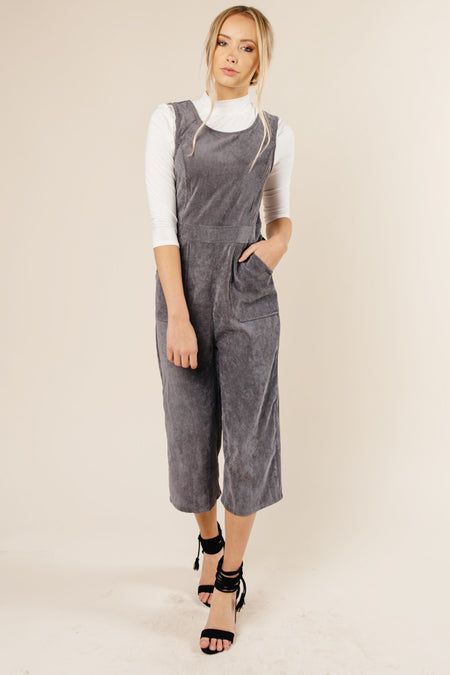 7757bbd31739 Colette Jumpsuit in Charcoal Bohme