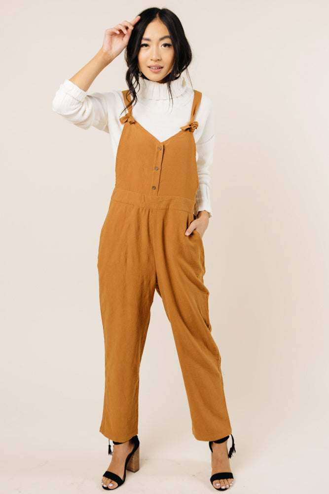 Fall Back Overall Jumpsuit Bohme
