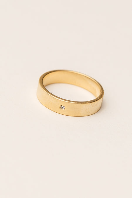 Hidden Gem Ring in Gold Bohme