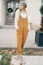 Fall Back Overall Jumpsuit