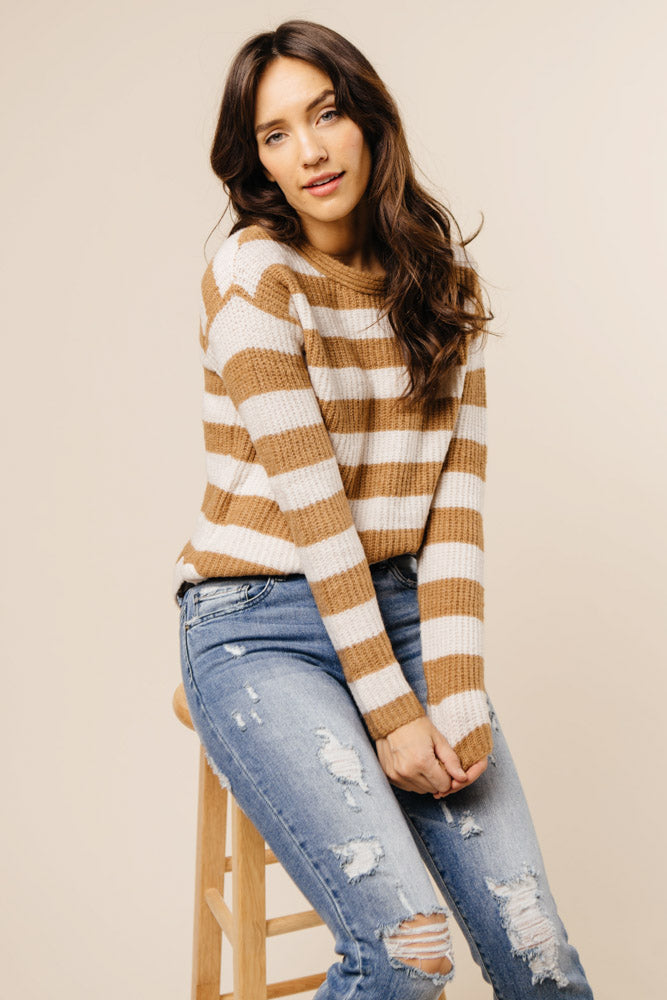 Huntley Striped Sweater