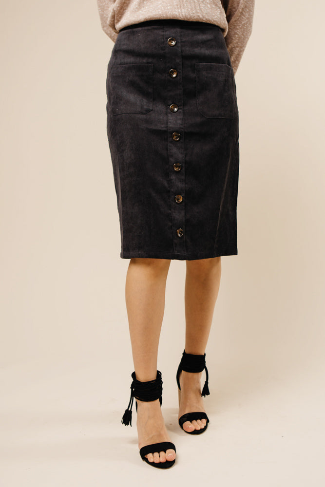 Button Down Skirt Bohme