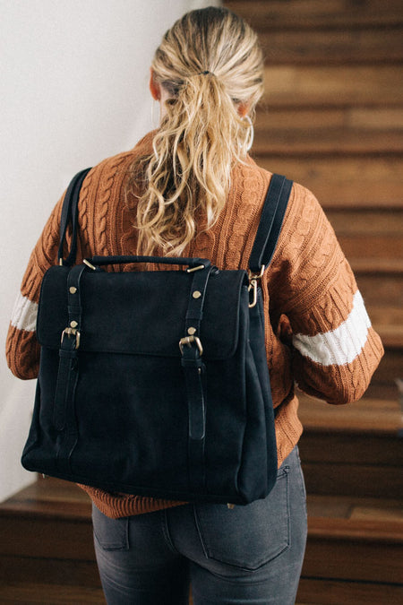 Theo Backpack in Black Bohme