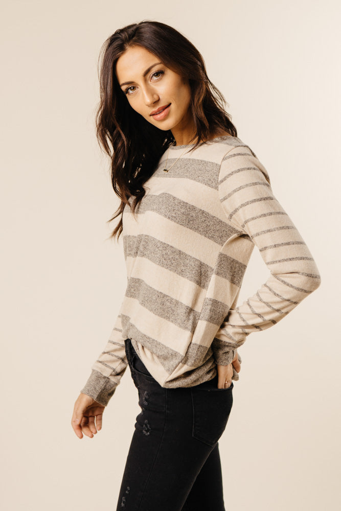 Riley Striped Long Sleeve - FINAL SALE
