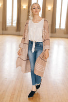 Emery Striped Cardigan